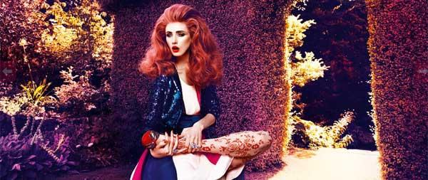 Alannah Hill – Australia's Reigning Queen of Romantic Designer Clothes.