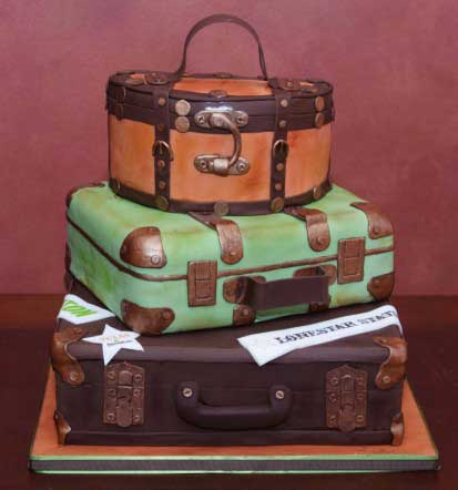 Suitcase Fashion - The Vintage Cases Are Back - Gracie Opulanza