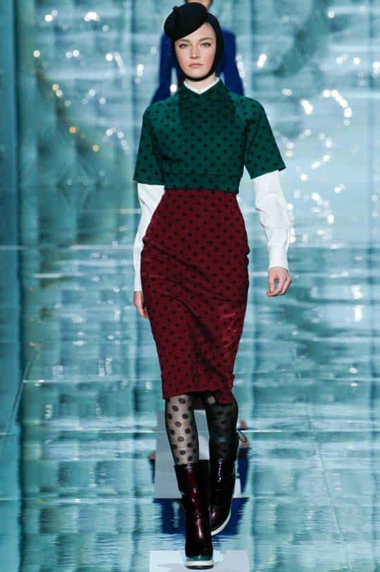 Marc Jacobs polka dott dresses 2012