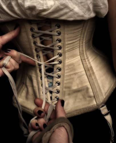 Corsets Should You Be Wearing That Outside Gracie Opulanza