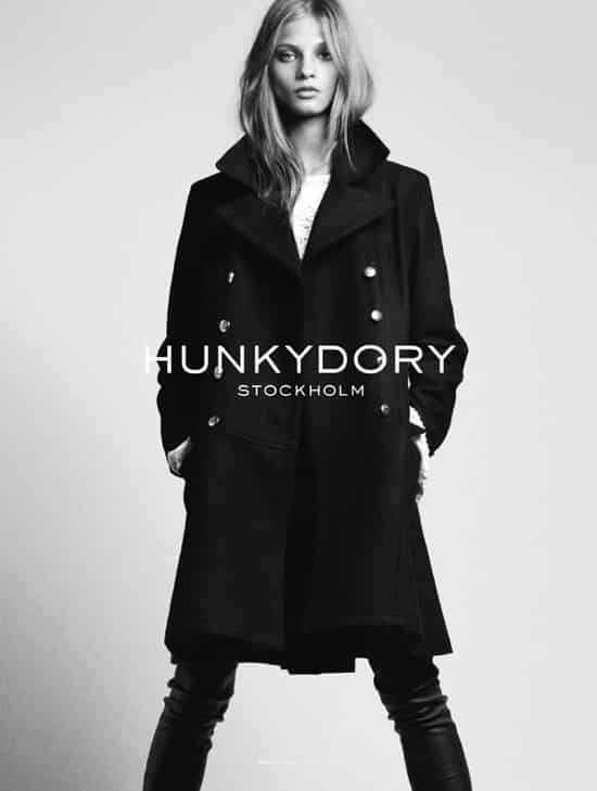 hunkydory, stockholm fall winter 2012 womens jacket. black