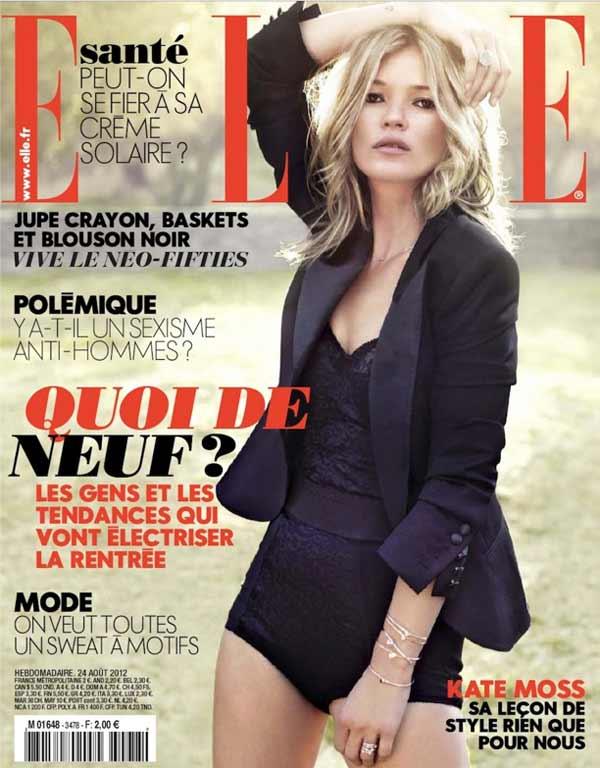 Kate Moss ELLE France