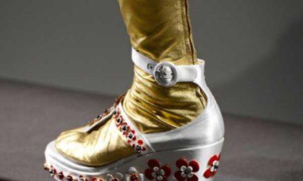Prada – Sixties, Sock,Thongs & Asian Prints