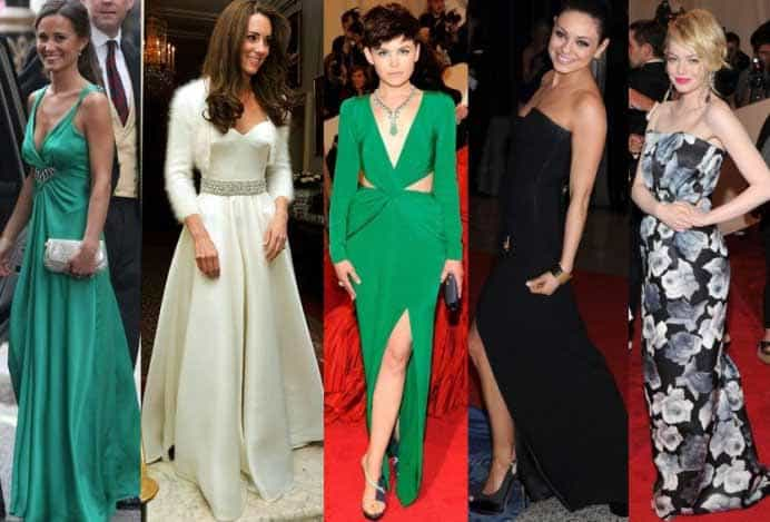 Cheap designer red carpet dresses