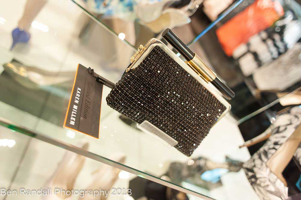 Karen Millen Autumn winter 2013 clutch bag cristal