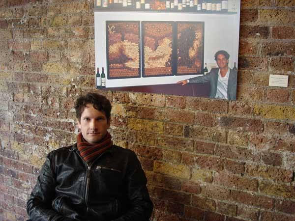 Conrad Engelhardt,wine cork art london