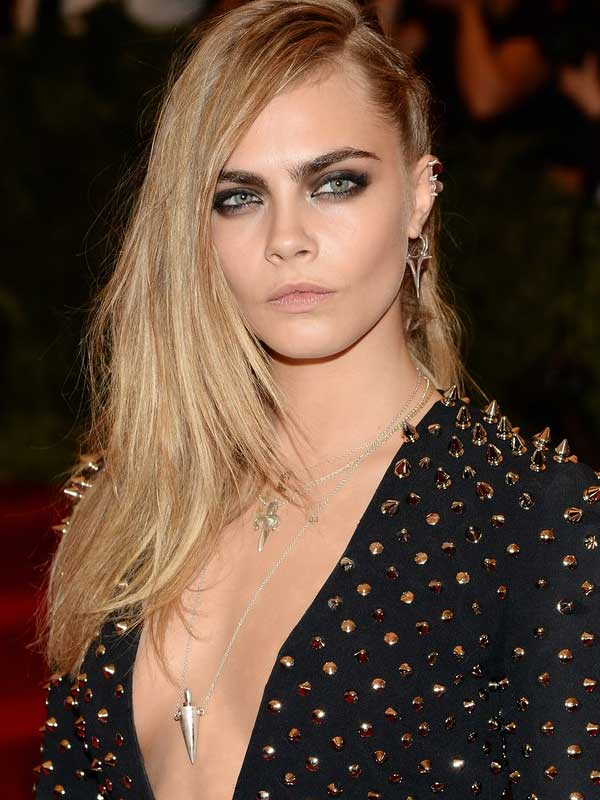 Met Ball - Cara Delevingne met ball 2013 red carpet