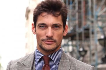 david gandy Interview London Collections Men