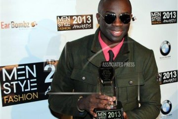 Sam Sarpong - Menstylefashion star award 2013