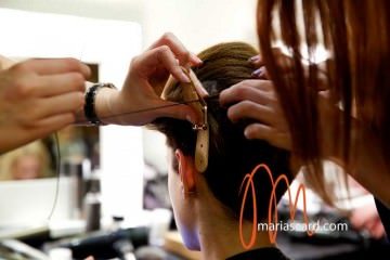 Label M Toni & Guy Backstage  London Fashion Week 2014 Womens Hairstyles (15) - Copy