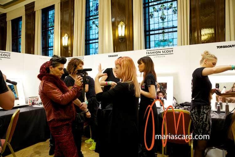 Peachy Backstage London Fashion Week Hairstyle Trends Toni Amp Guy Short Hairstyles For Black Women Fulllsitofus