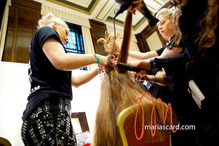 Label M Toni & Guy Backstage  London Fashion Week 2014 Womens Hairstyles (8) - Copy