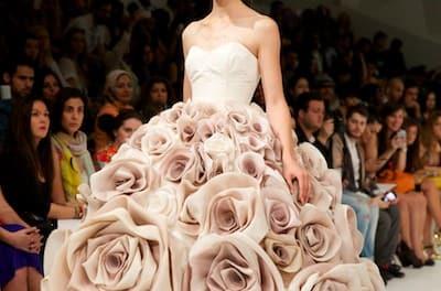 Dubai Fashion Forward 2014 – Jean Louis Sabaji Couture