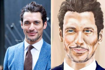 David-Gandy---sketch-by-Nas-Abram