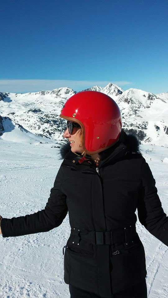 Gracie Opulanza - HEDON helmets