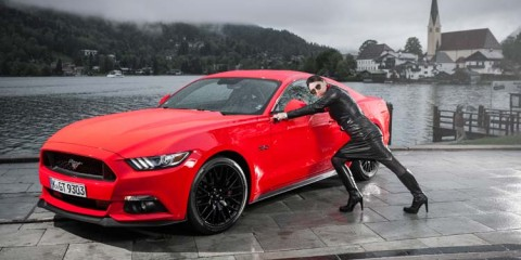 Ford Mustang GT V8 Gracie Opulanza fendi, leather dress 2015 (1)