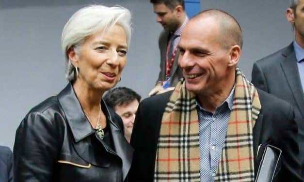 IMF Christine Lagarde – Leather Empowering Jacket